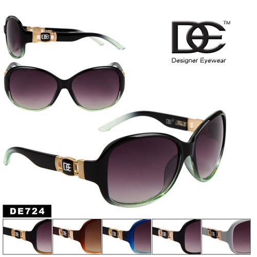 Wholesale Designer Eyewear Sunglasses - Style # DE724