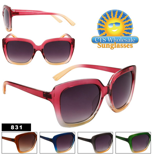Women's Fashion Sunglasses Wholesale - Style # 831