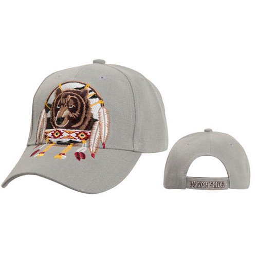 Light Grey Native Pride Baseball Cap