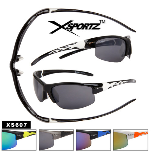 Xsportz™Wholesale Sports Sunglasses - Style # XS607