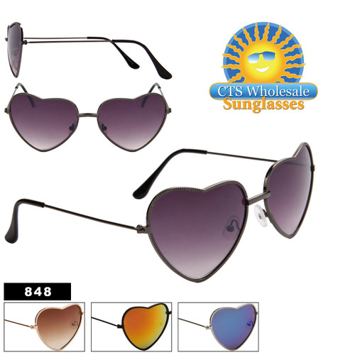 Heart Sunglasses - Style # 848