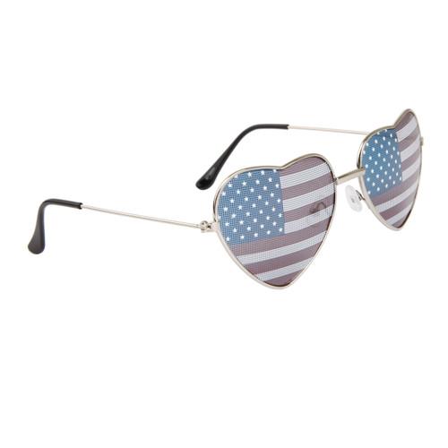 da16ba5aed63 ... American Flag Heart Sunglasses Wholesale 850 Silver ...