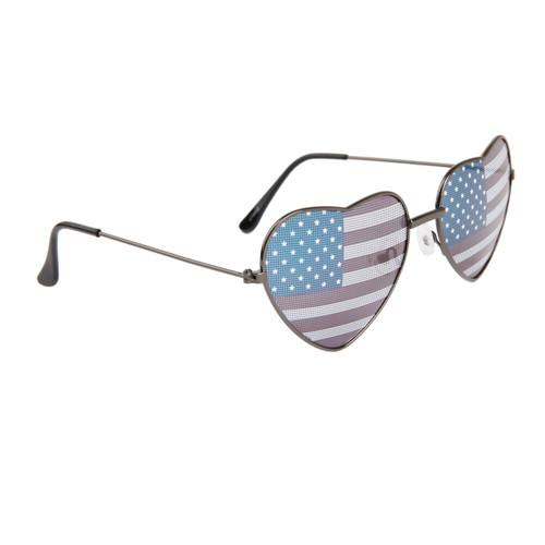 b55f4810b2d0 ... American Flag Heart Sunglasses Wholesale 850 Gun Metal ...