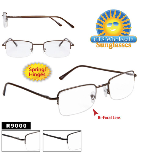 Bi-Focal Reading Glasses with Spring Hinge R9000