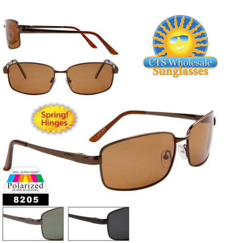 Bulk Polarized Sunglasses - Style # 8205