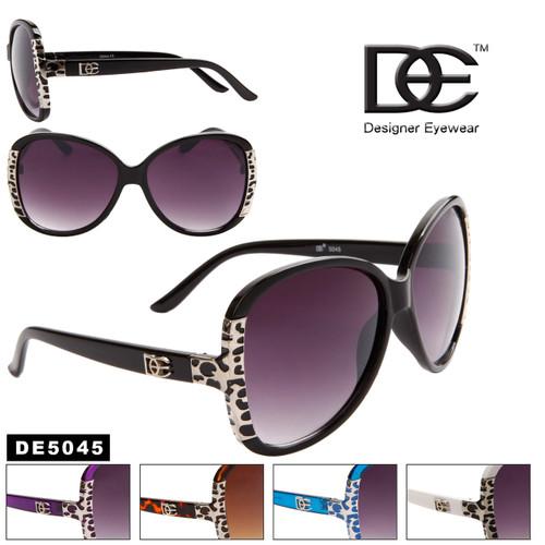 Large Lens Fashion Sunglasses DE5045