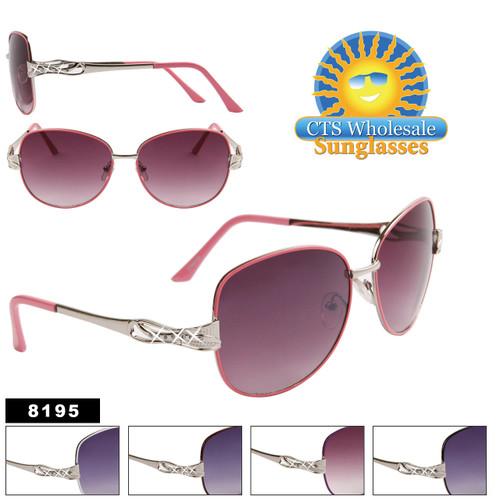 Women's Designer Sunglasses by the Dozen - 8195