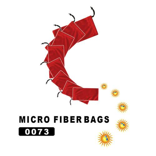 Red Micro fiber bags 0073