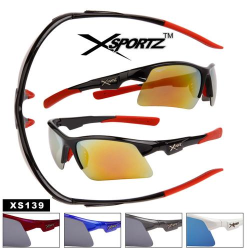 Men's Sport Sunglasses by the Dozen - Style # XS139