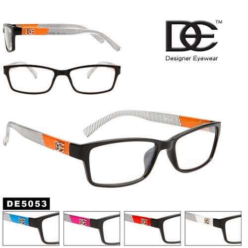 Wholesale Clear Lens Unisex Sunglasses - DE5053
