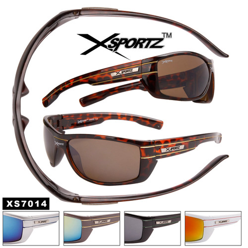 Xsportz™ Wholesale Sports Sunglasses - Style #XS7014