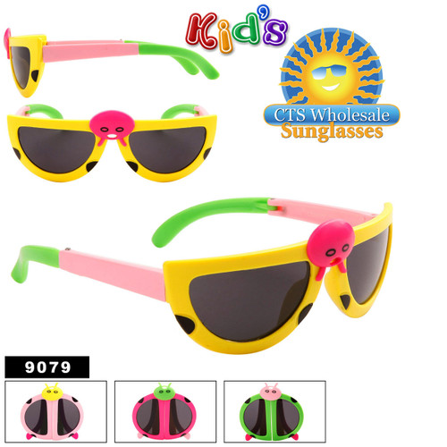 Wholesale Folding Sunglasses for Kid's - Style #9079