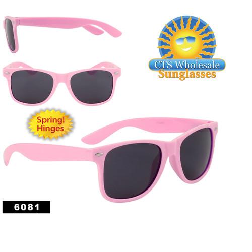 Pink California Classics Sunglasses Wholesale - Style #6081 Spring Hinge