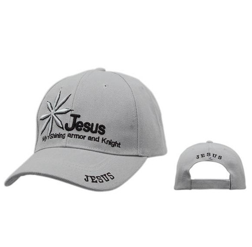 Grey Wholesale Ball Caps   Christian Baseball Caps