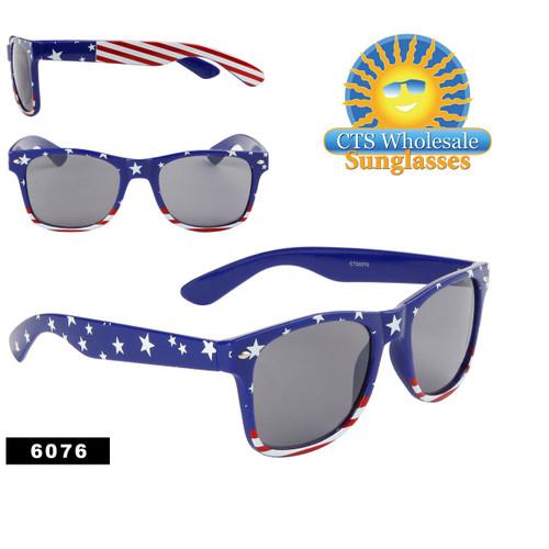 American Flag Sunglasses Wholesale - Style #6076