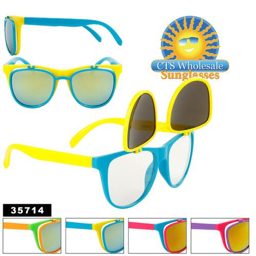Flip Up California Classics Sunglasses in Bulk - Style #35714