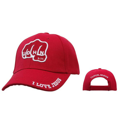 Red Christian Caps Wholesale C221