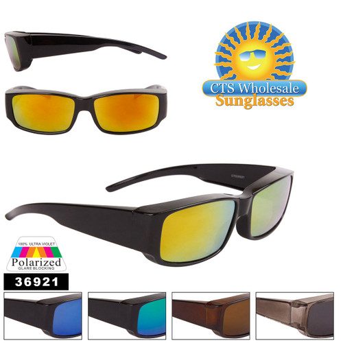 Polarized Wholesale Over Glasses Sunglasses - Style #36921