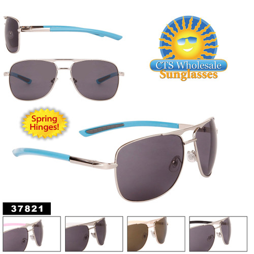 Wholesale Metal Square Aviators - Style #37821