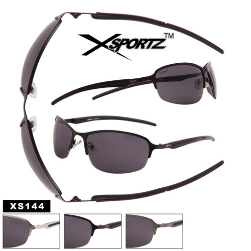 Men's Bulk Metal Sport Sunglasses - Style #XS144