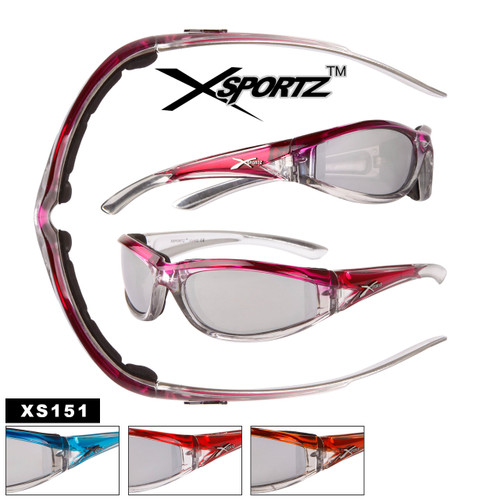 Xsportz™ Wholesale Motorcycle Sunglasses - Style #XS151