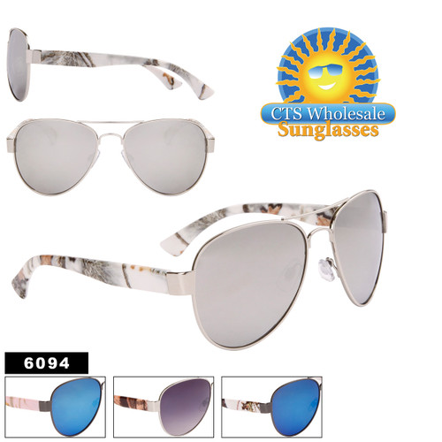 Fashion Aviator Sunglasses Wholesale - Style #6094