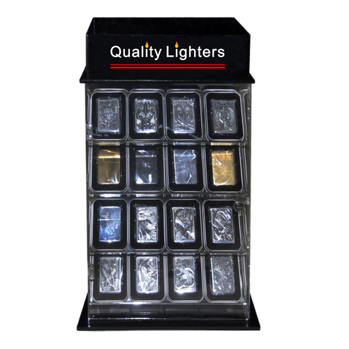 Lighter Display Case L218 Rotating/Locking