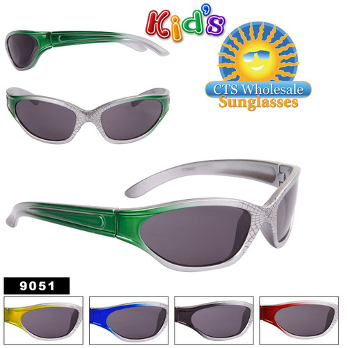 Kids Sunglasses by the Dozen - Style #9051