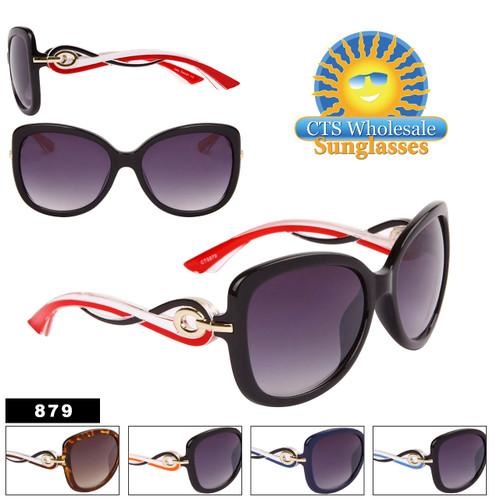 Modish Chic Over-Size Cat Eye Sunglasses  - Style #879