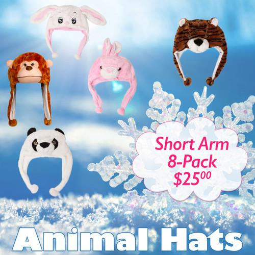 Sample Pack Short Arm Animal Hats