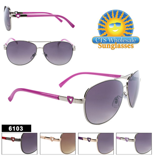 Fashion Aviator Sunglasses - Style #6103