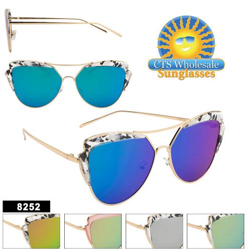 Women's Retro Sunglasses - Style #8252