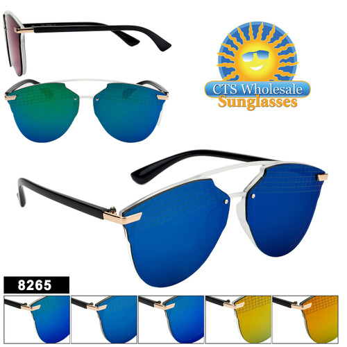 Mirrored Sunglasses - Style #8265