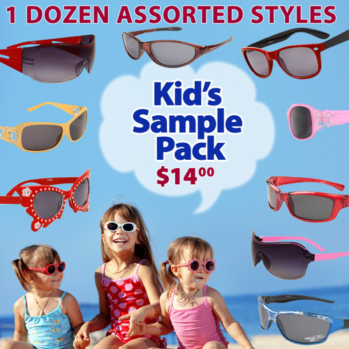 Assorted Style Sample Pack Kids