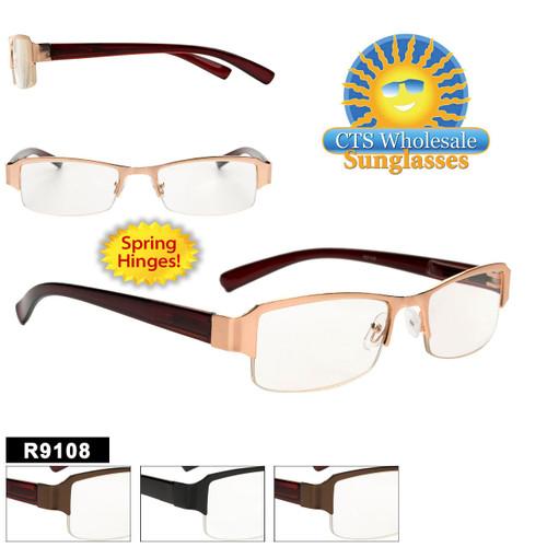 Wholesale Readers - R9108 Spring Hinges!