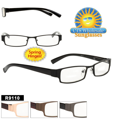 Wholesale Reading Glasses - R9110 Spring Hinges!
