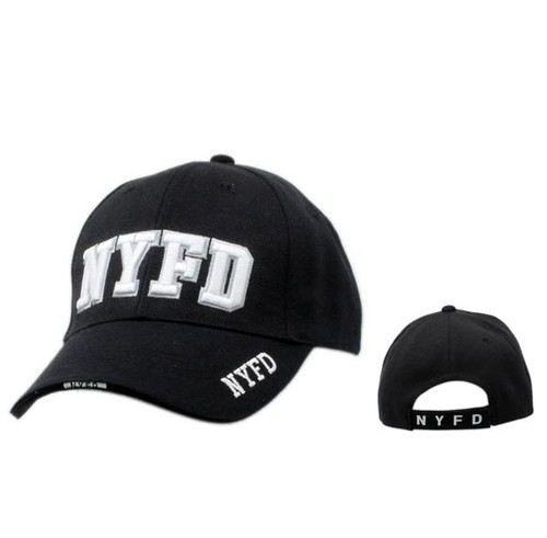 NYFD Wholesale Black Baseball Cap