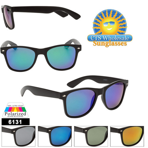 Polarized Mirrored California Classics - Style #6131