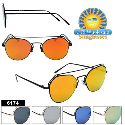 Bulk Mirrored Sunglasses - Style #6174