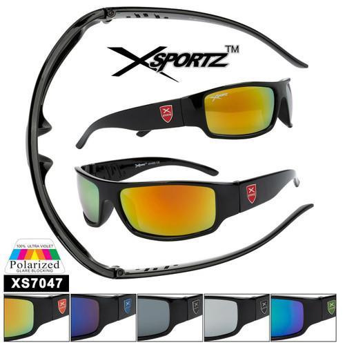 Bulk Polarized Xsportz™ Sports Sunglasses XS7047