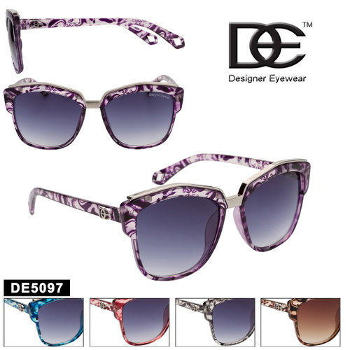 Cat Eye Sunglasses by DE™ Designer Eyewear - Style #DE5097