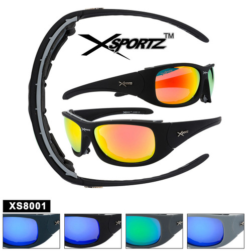 Xsportz™ Padded Sports Sunglasses XS8001