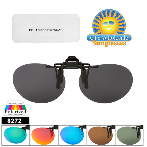 Polarized Clip Ons Flip-up Style 8272