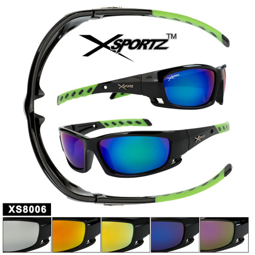 Xsportz™ Sports Sunglasses in Bulk - Style XS8006