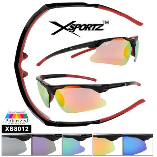 Xsportz™ Polarized Sunglasses Wholesale  - Style XS8012