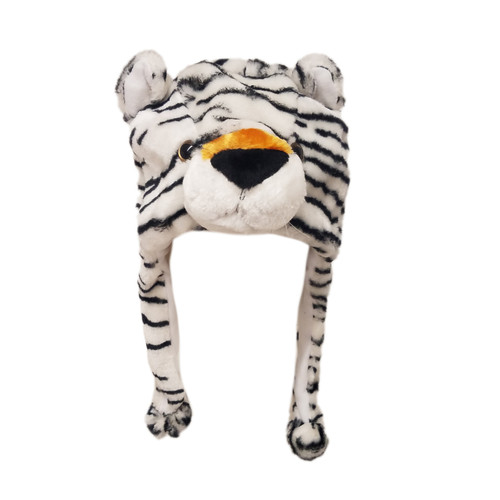Wholesale Animal Hats | White Tiger