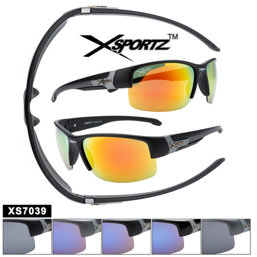 Xsportz™ Bulk Sports Sunglasses XS7039