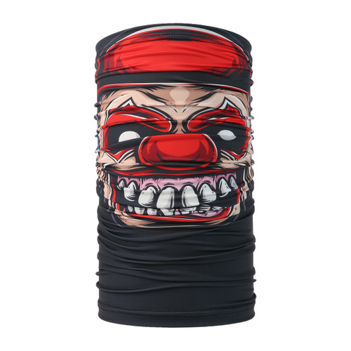 Hipster Clown Design Face Mask UV Protective (6 pcs.)