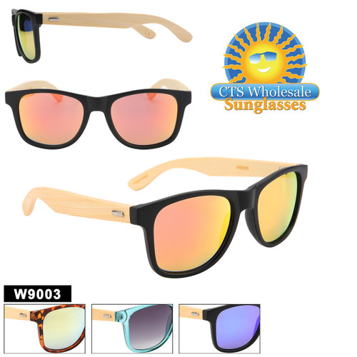 Hand Made Bamboo sunglasses in 4 great color combinations