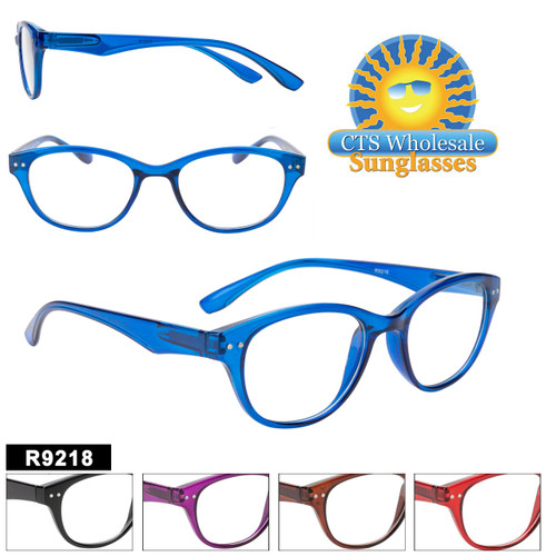 New Cat Eye Style Reading Glasses.  5 different colors and a variety of powers to choose from.  Priced at only $16.00 per dozen, Grab some before they are gone!